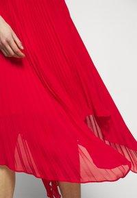 MICHAEL Michael Kors - PLEATED HALTER  - Cocktail dress / Party dress - crimson - 4