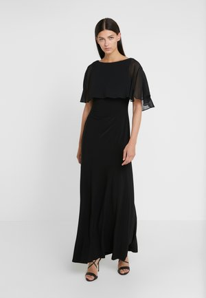 CLASSIC LONG GOWN COMBO - Ballkjole - black