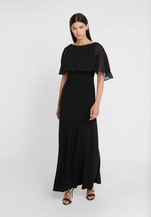 CLASSIC LONG GOWN COMBO - Společenské šaty - black