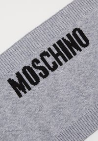 MOSCHINO - NECK WARMER UNISEX - Snood - grey melange - 2