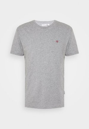 SALIS - T-shirt basic - mottled grey