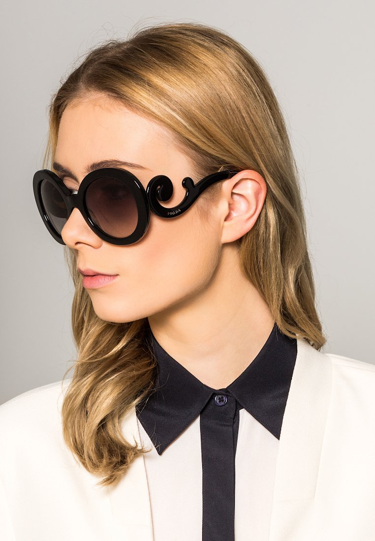 Prada - Sunglasses - black