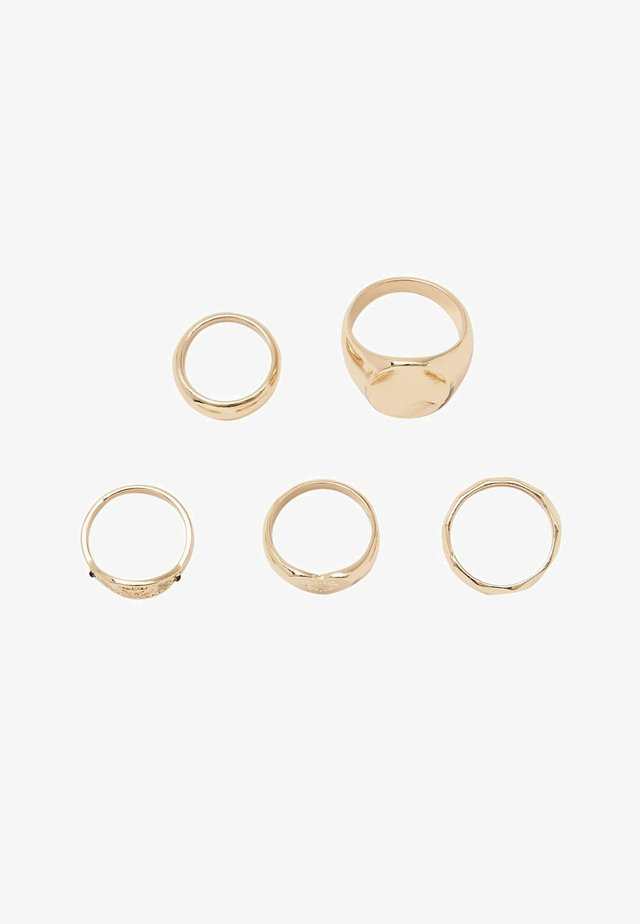 5-SET - Ring - gold