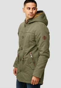 INDICODE JEANS - Winter coat - dark green - 5