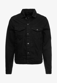 New Look - WESTERN - Denim jacket - black - 5
