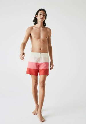 Swimming shorts - rouge  rose  rose pale  beige