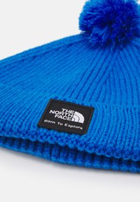The North Face - LITTLES BOX LOGO POM BEANIE UNISEX - Beanie - clear lake blue - 2