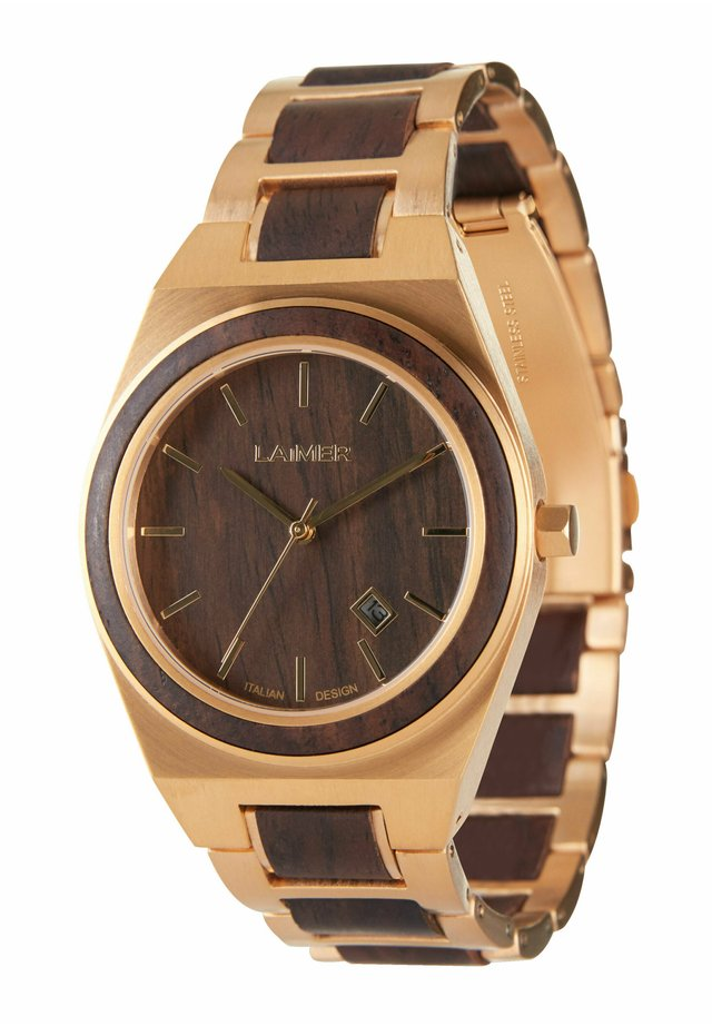 COLIN - Orologio - gold / brown