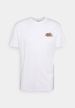 STREET FIGHTER TEE - Print T-shirt - white