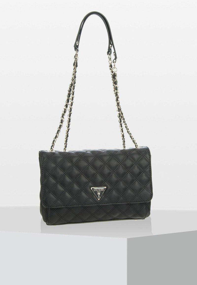 Guess - CESSILY CONVERTIBLE  - Håndtasker - black