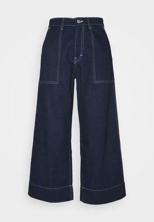 AKARI RECYCLED TROUSER - Relaxed fit jeans - blue medium dusty