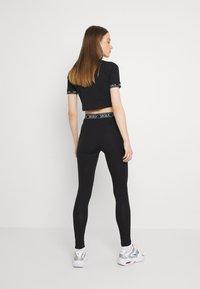 SIKSILK - CORE LEGGINGS - Leggings - Trousers - black - 2