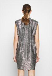 Monki - ALVINA BLING DRESS - Robe de soirée - silver / black - 2