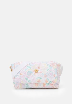 BAG FABRIC - Baby changing bag - pink/multicolor/gold