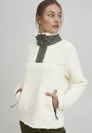 ELINA - Fleece jumper - cloud dancer