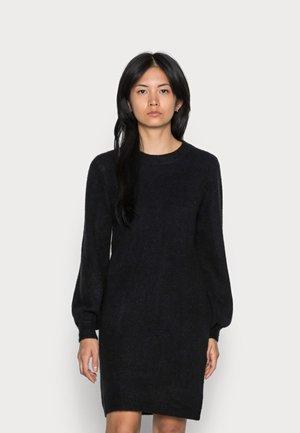 OBJEVE NONSIA DRESS  - Gebreide jurk - black