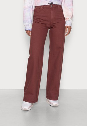 Jeans baggy - red