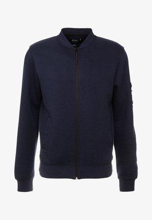 LANYARD - Zip-up hoodie - navy