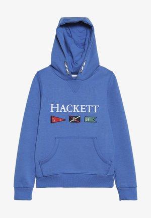 FLAG HOODY - Hoodie - pacific blue