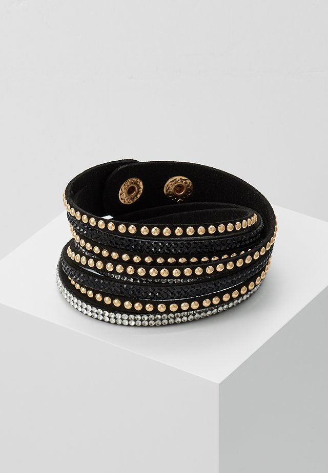 WANDA - Bracciale - black/gold-coloured
