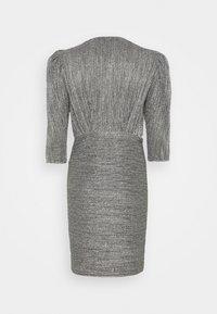 Iro - CLUZCO - Shift dress - black/silver - 1