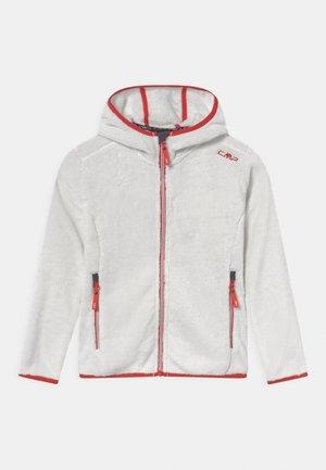 FIX HOOD - Fleece jacket - gesso/grenadine