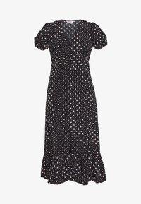 Miss Selfridge Petite - MULTI SPOT - Day dress - black - 3