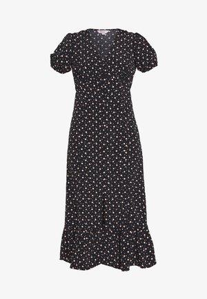 MULTI SPOT - Day dress - black