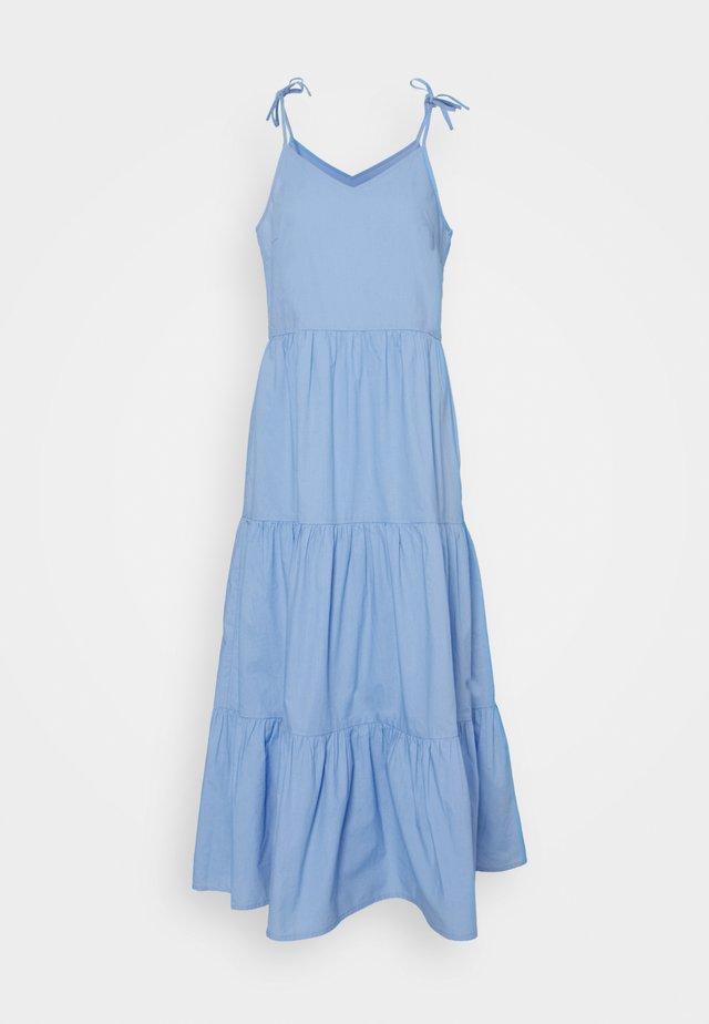 PCTESS STRAP ANKLE DRESS  - Długa sukienka - vista blue