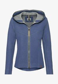 camel active - SCUBA - Zip-up sweatshirt - blue - 5