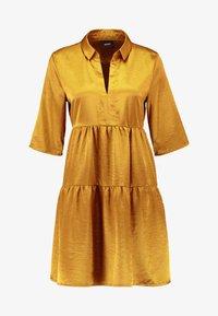 Object - OBJJUNE DRESS - Robe d'été - buckthorn brown - 5