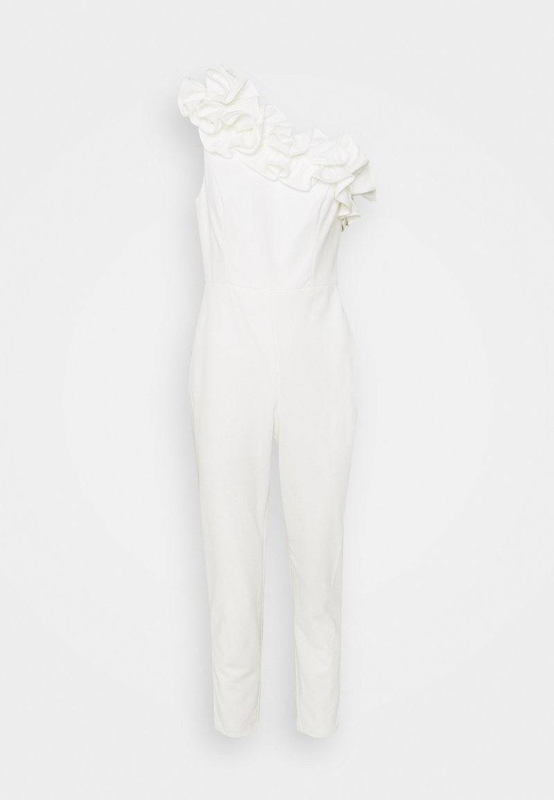 Adrianna Papell - RUFFLE - Jumpsuit - ivory