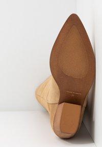 mtng - CENTA - Cowboy/Biker boots - beige - 6