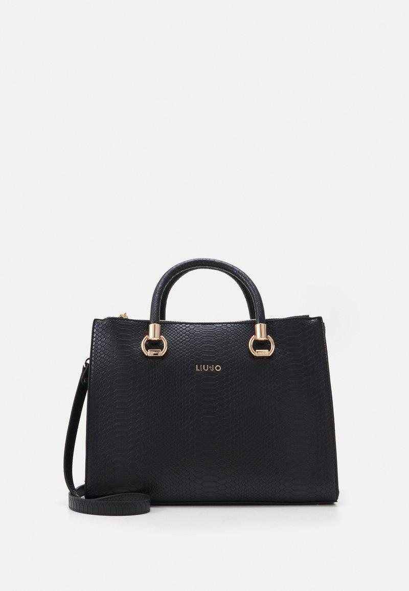 LIU JO - SATCHEL DOUBLE ZIP - Handbag - nero
