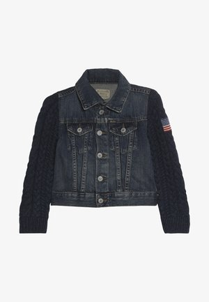 TRUCKER OUTERWEAR JACKET - Džínová bunda - kasey wash