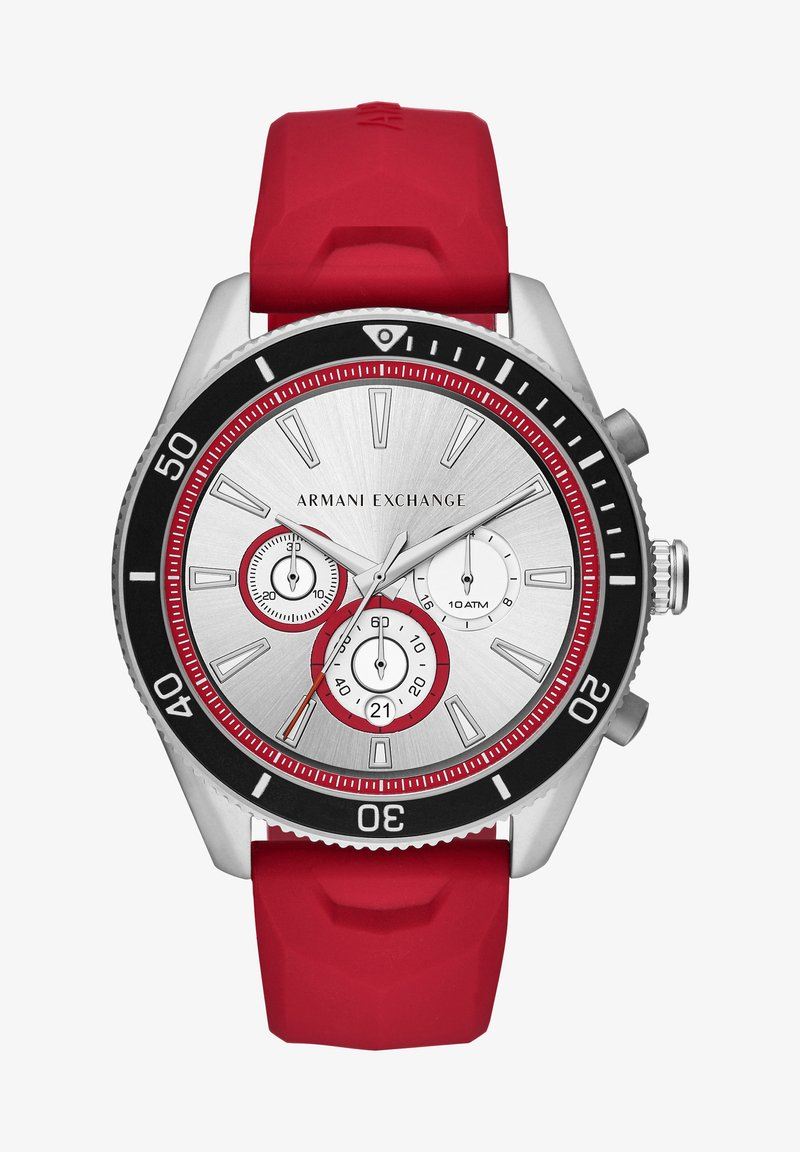 Armani Exchange - ENZO - Chronograph watch - red