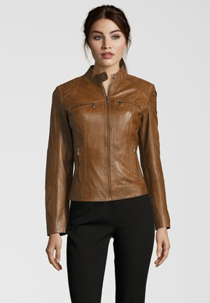 MIRACLE - Leather jacket - meera(3384)