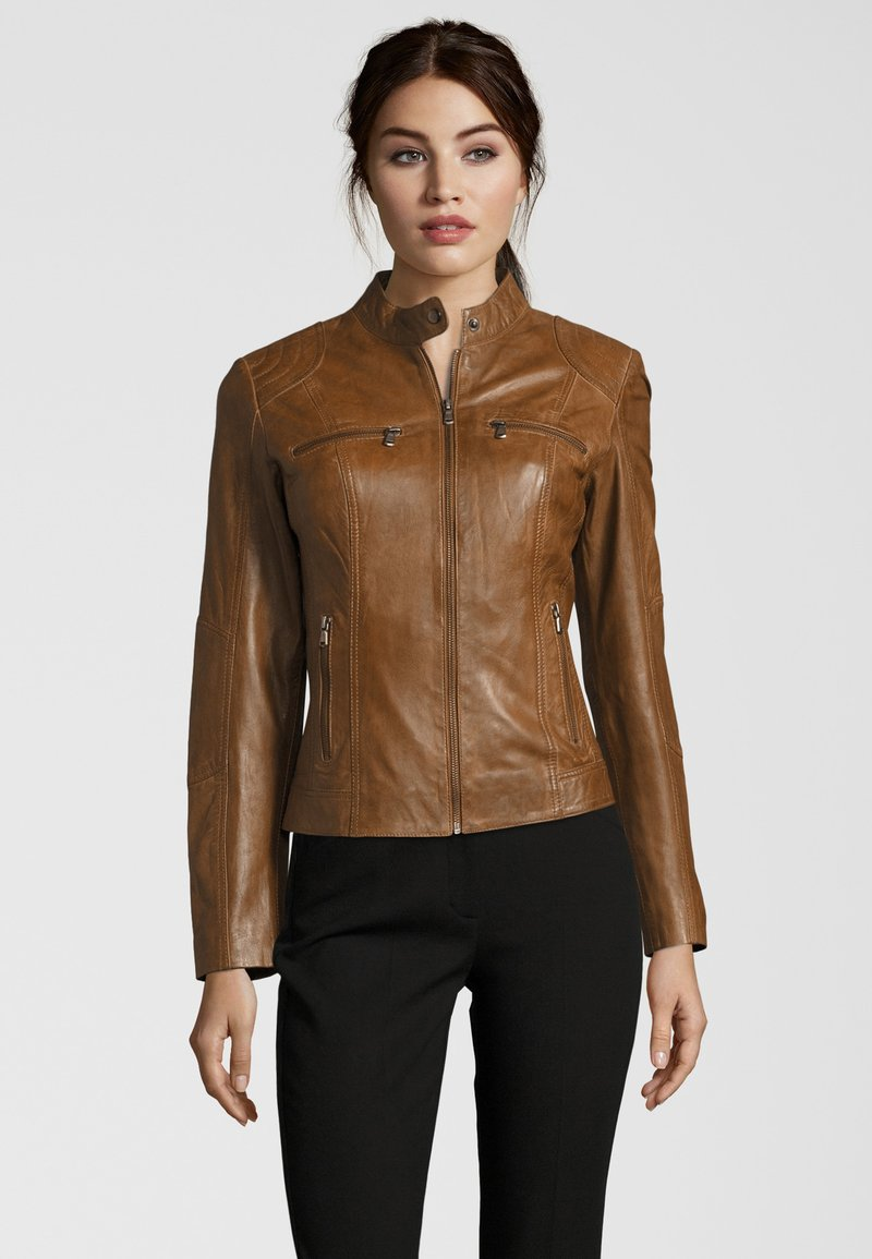 7eleven - MIRACLE - Leather jacket - meera(3384)