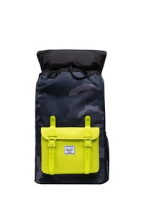 Herschel - LITTLE AMERICA YOUTH - Rucksack - night camo/lime punch - 3
