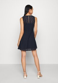 Vero Moda - VMALLIE SHORT DRESS - Day dress - navy blazer - 2