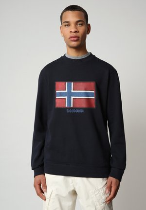 BIROL CREW - Sweatshirt - blu marine