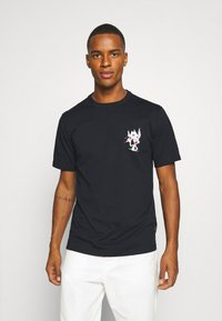 Converse - BUGS BUNNY FASHION TEE - Print T-shirt - black - 2