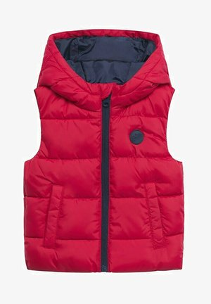 MET CAPUCHON - Waistcoat - rood