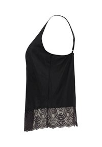 Mey - SPAGHETTI TOP MIT SPITZE SERIE COLETTE - Pyjama top - black - 1
