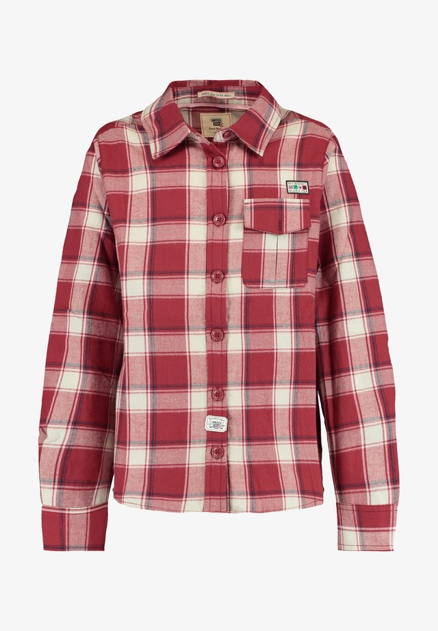 BELLA JR - Button-down blouse - washed red