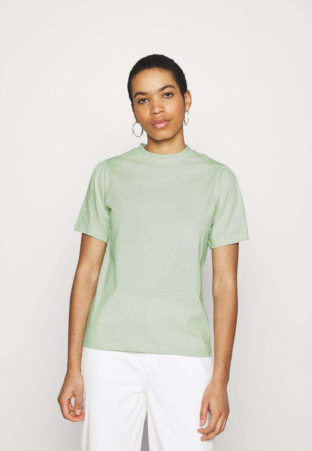 GAURE - Print T-shirt - green
