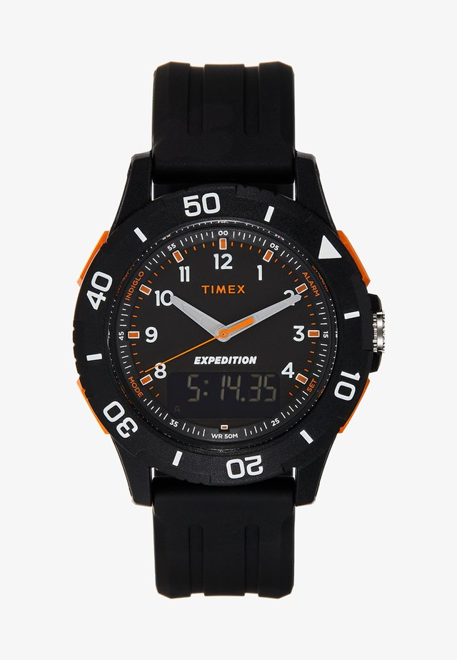 EXPEDITION KATMAI COMBO 40 mm - Zegarek - all black