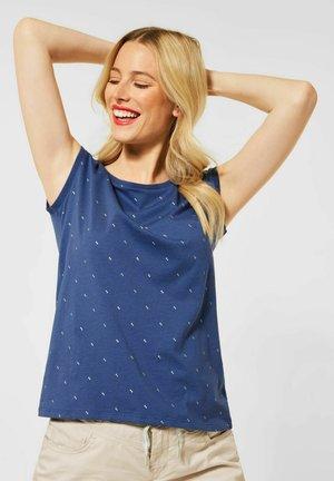 MINIMAL - Print T-shirt - blau