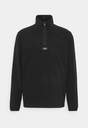 JCOMICK HALF ZIP - Fleece jumper - black
