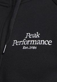 Peak Performance - ORIGINAL ZIP HOOD - Mikina na zip - black - 5